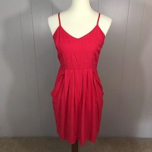 Mossimo red/coral strappy summer dress